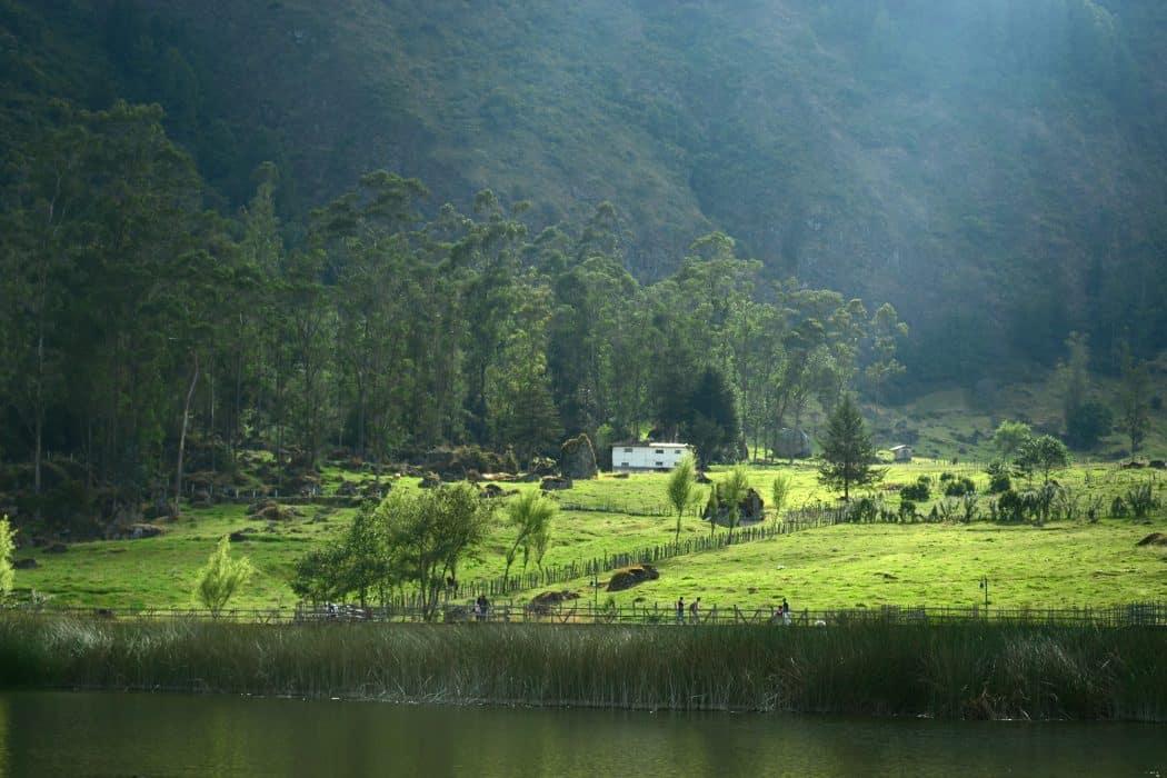 Laguna de Busa, Azuay, Ecuador