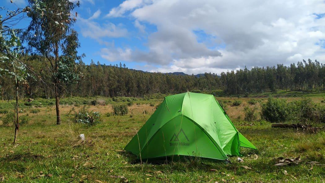 Camping en Parque Carigan Colinar Villonaco - Loja