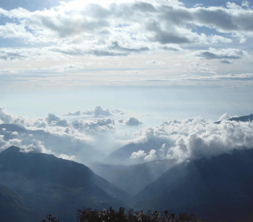Vista desde el Cerro Puñay