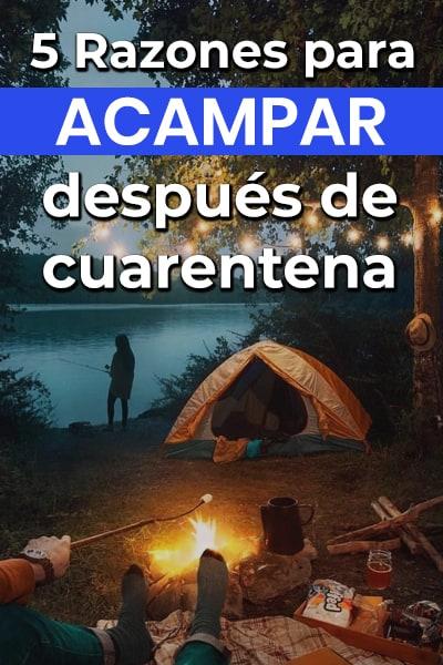 5 Razones para acampar en los viajes post covid