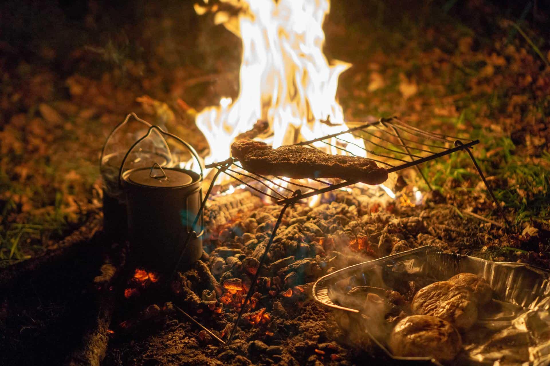 comida para camping
